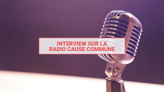 Couverture Radio Cause Commune